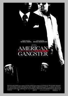 Denzel Washington, Mafia, Movie Poster Frames, Movie Posters, Frank Lucas, Magic Memories, American, Gangster Movies, Crime Film