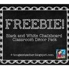 This free Black and White Chalkboard Theme Classroom Decor Pack includes: -Binder Covers -Alphabet -Numbers -Word Wall Headers -Schedule -Days of . 3rd Grade Classroom, Classroom Setup, Classroom Design, Future Classroom, Classroom Organization, Classroom Management, Classroom Arrangement, Classroom Labels, Primary Classroom