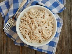 Why should you make Instant Pot shredded chicken? Having pre-made chicken on hand will save you so much time! And, you'll have a healthy protein readily available for when hunger strikes.