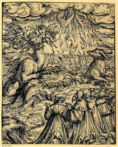 Hans Burgkmair, 1523 woodcut