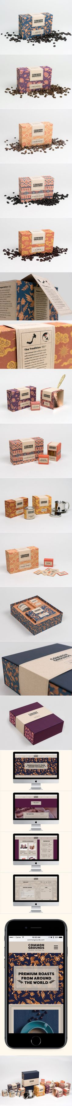 Vibrant Coffee Packaging Inspired by the Textiles and Arts of the Beans' Origins — The Dieline | Packaging & Branding Design & Innovation News