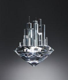'Diamond as a building material' by Kyle Bean,