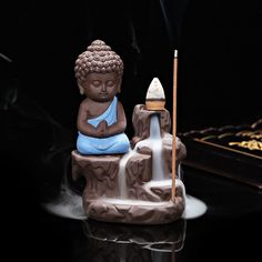 Zen Monk Cone Incense Burner