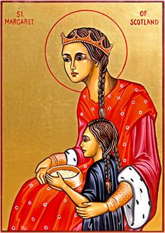 Feast of St. Margaret, Queen of Scotland; Christian Religious Observance; November 16; Hungarian-born noblewoman, wife of Malcolm III of Scotland; known for her personal piety, work with poor people, and support of the clergy. A patron saint of Scotland.