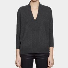 """Selling this """"All Saints Blaize Jumper in Charcoal Grey US 6 M"""" in my Poshmark closet! My username is: isabelcorrea. #shopmycloset #poshmark #fashion #shopping #style #forsale #All Saints #Sweaters"""