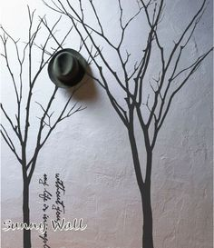Winter Trees  Vinyl wall sticker wall decal tree by SunnyWall, $69.00