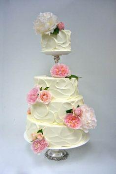 Wedding Cakes   Sweet On Cake:  not sure i like it, but i kind of like it.