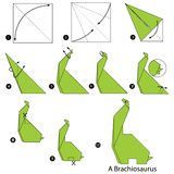27 Excellent Picture of Origami Tutorial Step By Step . Origami Tutorial Step By Step Step Step Instructions How To Make Origami A Dinosaur Stock Instruções Origami, Paper Crafts Origami, Origami Design, Oragami, Origami Folding, Origami Diagrams, Origami Templates, Origami Tutorial, Dinosaur Origami