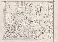 The Boy and the Beast #Kumatetsu #Kyuta #Tatara #Hyakushubo (by モトオキ)
