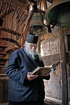 Monk on Mt Athos Photographer: Ilan