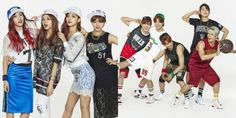 GOT7 and TWICE show cute and sexy sporty hip hop fashion. In the photos, GOT7 and TWICE are swagging in NBA snapbacks, jerseys, gold chains, and …
