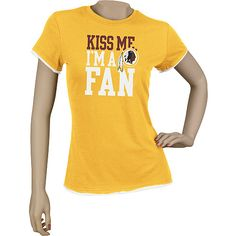 dc4fa51e0 Reebok Washington Redskins Women s Plus Size Hard To Get T-Shirt - ESPN  Shop Denver
