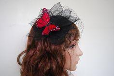 Butterfly Fascinator Hat