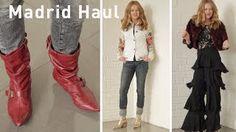 Madrid fashion haul over 40  Zara Gloria Ortiz El Corte Ingles Charity Shop