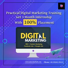 Microinchub offers one of the Best Digital Marketing Course in Mumbai with placement and 3 Month internship Digital Marketing Course with 100% Job Placement.  📲Call Us now Phone: +91 9324125113  #digitalmarketing #marketing #socialmediamarketing #socialmedia #seo #business #branding #marketingdigital #onlinemarketing #contentmarketing #entrepreneur #marketingtips #advertising #marketingstrategy #startup #smallbusiness #digital #webdesign #b #design #graphicdesign #