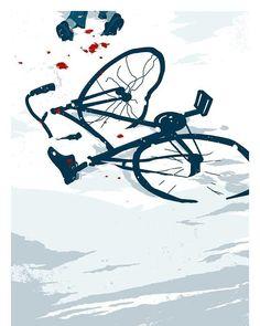 .  Accident... By unknown Artist. . #fixie #fixedgear #fixedlife #messlife #messenger #singlespeed #roadbike #mtb #alleycat #stronglegs #bikes #cyclist #cycling #shutuplegs #ridehard #girlswithtattoos #sketch #roadbike #cyclingart #drawing #bikeart #handdrawn #bicycle #biker #fixiechick #babesonbikes #girlsonbikes #pinup