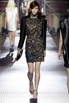 Lanvin Spring 2013 Ready-to-Wear Fashion Show - Meghan Collison