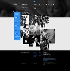 Tomasz Opalka #Website Concept by Mik Skuza, ... | webdesign inspirat…