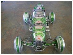 Amazing tin can cars!