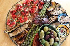 Vegan Antipasto Platter by Vegan Eats & Treats!: A Dinner To Impress Some Fellow Vegans!