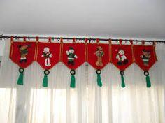 cenefas navideñas para imprimir - Buscar con Google Christmas Mom, Christmas Sewing, Christmas Fabric, Christmas Projects, Felt Crafts, Christmas Crafts, Christmas Ornaments, Felt Christmas Decorations, Holiday Decor