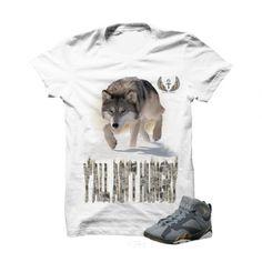 029bd7963d5 Ya ll Ain t Hungry Blue Dusk 7s White T Shirt. The Ya