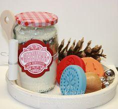 Tag 14….Backmischung im Glas für Stampin Up Kekse