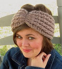 Crochet Headband, ear warmer for kids or adults, hairband, winter headband by OnceUponARoll, $12.00 USD