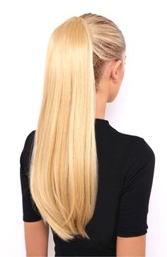 Long Hair Ponytail, High Ponytail Hairstyles, Blonde Ponytail, Straight Ponytail, Ponytail Hair Extensions, Short Straight Hair, Sleek Ponytail, High Ponytails, Straight Hairstyles