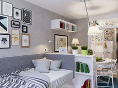 When it comes to designing comfortable homes when there is little square footage to work with, there are many places to look for a solution. Many designers star