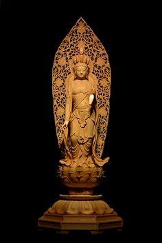 十一面観音像 | 仏像販売・仏像彫刻の専門店の仏像彫刻原田