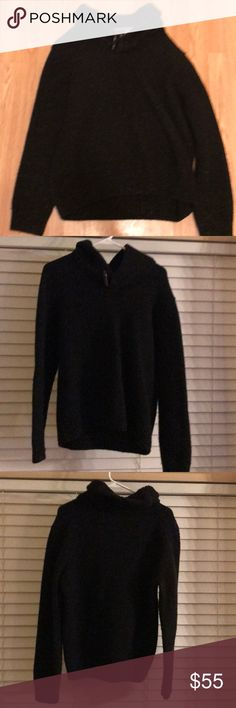 Shawl sweater Black Joseph A Bank sweater in excellent condition no flaws. Joseph Sweaters