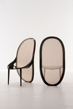 The Wiener chair references a popular style from the late nineteenth-century.