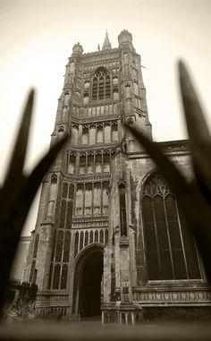 St Peter Mancroft Church [Norwich UK] in the mist Big Ben, Mists, Louvre, Pictures, Photos, Drawings, Louvre Doors