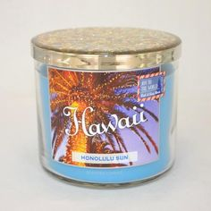 Bougie parfumée 3 mèches HAWAII HONOLULU SUN Bath and Body Works