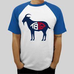 Tom brady TB12 Goat T-Shirt cotton ringer tops pattern tshirt mens brand  top tees 09b9951bd