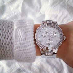 #Guess #Watch.. -> Love GUESS Prism silver. $230 on special