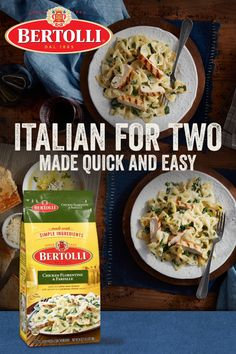 Grab a bag of our frozen skillet meals next time you're in the freezer section! There's a ton different pasta dinners are available, including chicken carbonara, shrimp penne, and more. Slow Cooker Recipes, Crockpot Recipes, Chicken Recipes, Cooking Recipes, Healthy Recipes, Italian Dishes, Italian Recipes, Cheap Meals, Easy Meals