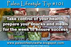 Paleo Lifestyle Tip