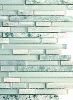 Saltillo backsplash tile... screams beachy