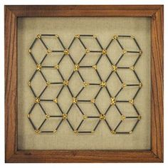 Framed Faceted Wire Cubes 12 already viewed