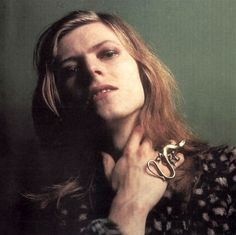 David Bowie, 1971 for the cover of Hunky Dory, by Brian Ward, via nightspell