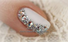 Beautiful Wedding Manicure Ideas - Inspired Bride