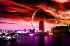 London Eye (Colours) Nicholas Gooden