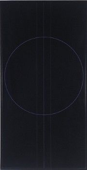Ralph Hotere | Black Painting, Indigo Violet VI, 1969 Nz Art, Geometry Pattern, Black And White Painting, Nocturne, Line Drawing, Napkin, Bobs, Graphic Illustration, Light In The Dark