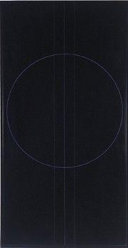 Ralph Hotere | Black Painting, Indigo Violet VI, 1969