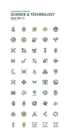 Science & Technology Colors by BomSymbols on Creative Market Icon Set Science & Technology Colors by Doodle Tattoo, Doodle Drawings, Easy Drawings, Cute Small Drawings, Hp Tattoo, Tattoo Flash, Mini Tattoos, Small Tattoos, Cat Tattoos