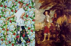 Kehinde Wiley - Figurative & Rococo Painting - Urban Renaissance