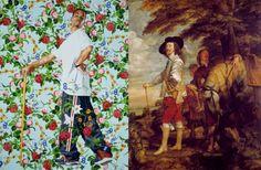 Kehinde Wiley - Figurative & Rococo Painting - Urban Renaissance