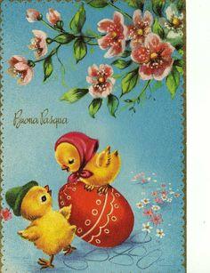 Miss Jane: Easter & Spring Vintage Postcards